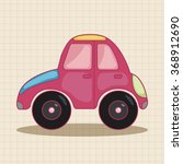 transportation car theme... | Shutterstock .eps vector #368912690