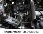 detail of a car engine | Shutterstock . vector #368938043