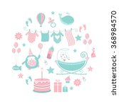 Circle Baby Pattern. Cute...