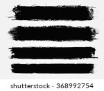 set of grunge banners .vector... | Shutterstock .eps vector #368992754