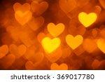 Heart Background Photo Golden...