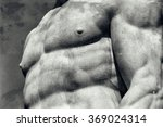 Vintage Image Of A Muscular...