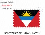 antigua and barbuda stamp... | Shutterstock .eps vector #369046940