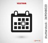 calendar icon | Shutterstock .eps vector #369048020