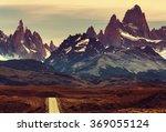 cerro fitz roy in argentina | Shutterstock . vector #369055124