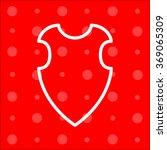 web line icon. shield. | Shutterstock .eps vector #369065309