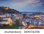 lisbon. image of lisbon ... | Shutterstock . vector #369076358