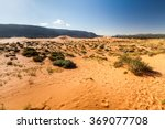views of the coral pink sand... | Shutterstock . vector #369077708