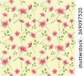 seamless floral pattern  | Shutterstock .eps vector #369097520
