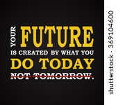 future   do it today  ... | Shutterstock .eps vector #369104600