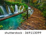 deep forest stream with crystal ... | Shutterstock . vector #369113099
