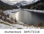 View  Of The Marmorera Lake In...