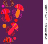 vertical composition of floral  ...   Shutterstock .eps vector #369172886