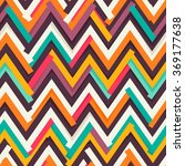 chevron paper cut out seamless... | Shutterstock .eps vector #369177638