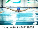 young athletic man with... | Shutterstock . vector #369190754