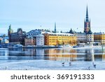 A View Of Stockholm's Gamla...