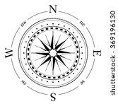 compass navigation dial  ... | Shutterstock .eps vector #369196130