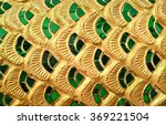 close up of emerald glass... | Shutterstock . vector #369221504