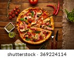 Delicious Pizza  Vegetables An...