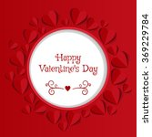 valentine's day abstract...   Shutterstock .eps vector #369229784