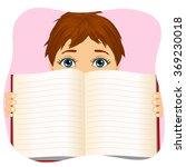 Little Boy Holding A Book Wide...
