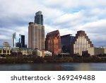 the austin  texas  skyline at... | Shutterstock . vector #369249488