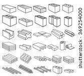 construction building materials ... | Shutterstock .eps vector #369254000