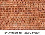 side view hole red construcion... | Shutterstock . vector #369259004