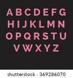 stylized  sparkling pink... | Shutterstock .eps vector #369286070