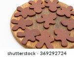 christmas gingerbread cookies... | Shutterstock . vector #369292724