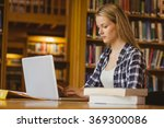 serious student working on... | Shutterstock . vector #369300086