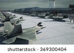 military base  bunker  hangar.... | Shutterstock . vector #369300404