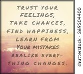 inspirational typographic quote ... | Shutterstock . vector #369304400