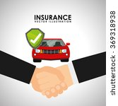 insurance company design  | Shutterstock .eps vector #369318938
