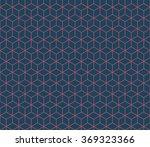 seamless dark blue and burgundy ... | Shutterstock . vector #369323366