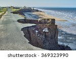 Coastal Erosion Of The Cliffs...