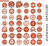 quality retro vintage badges... | Shutterstock .eps vector #369331280