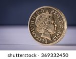 One Pound Coin English Uk...