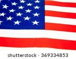 united states of america flag.... | Shutterstock . vector #369334853