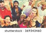 summer beach friendship holiday ...   Shutterstock . vector #369343460