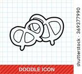 pretzels doodle | Shutterstock .eps vector #369377990