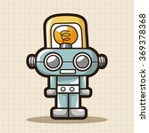 robot theme elements | Shutterstock .eps vector #369378368