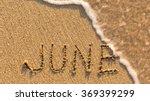 Inscription June On A Gentle...