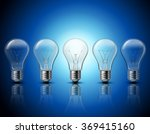 light bulbs set idea concept... | Shutterstock . vector #369415160