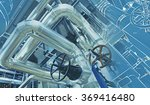equipment  cables and piping as ... | Shutterstock . vector #369416480