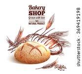 bakery sketch concept | Shutterstock . vector #369419198
