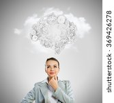 mechanisms of thinking processes | Shutterstock . vector #369426278