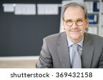 middle aged businessman wearing ... | Shutterstock . vector #369432158