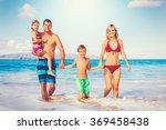 family vacation. happy family... | Shutterstock . vector #369458438