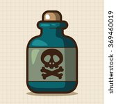 toxic chemicals theme elements | Shutterstock .eps vector #369460019